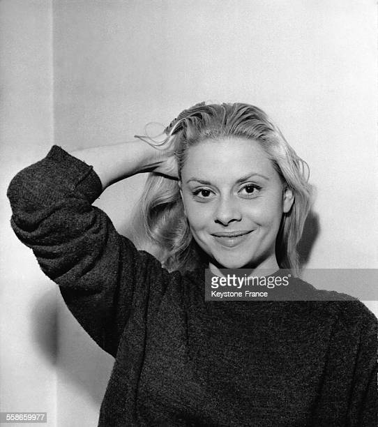 Portrait de l'actrice Christiane Minazzoli