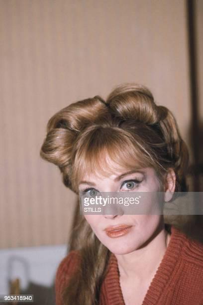 Portrait de l'actrice Diane Cilento dans les années 80 France