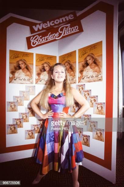 Portrait de l'actrice et chanteuse américaine Charlene Tilton connue pour mesurer 150 m et son rôle dans la série télévisée 'Dallas' le 2 mai 1984 à...