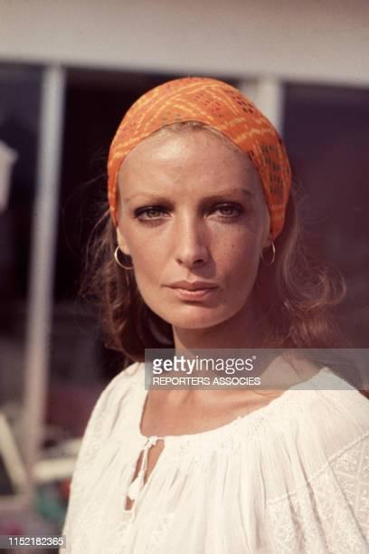 Portrait de l'actrice et chanteuse française Marie Laforêt dans les années 60, France.