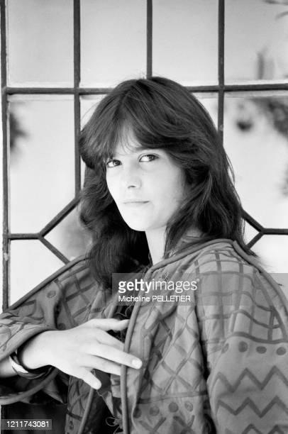 Portrait de l'actrice française Ariel Besse lors du Festival de Cannes le 24 mai 1982 France