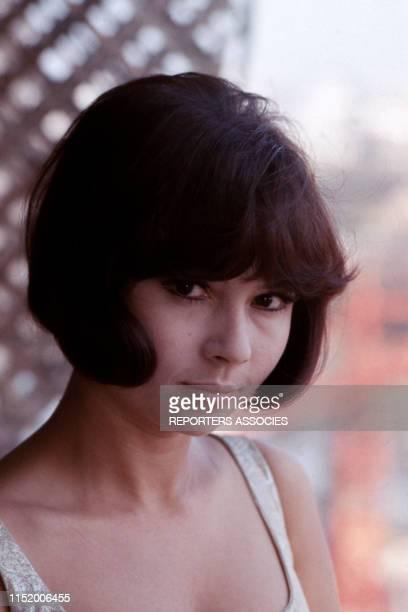 Portrait de l'actrice française Dany Carrel dans les années 60 France