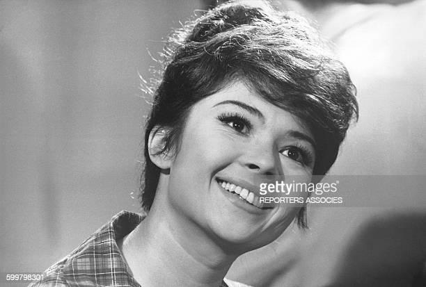 Portrait de l'actrice française Dany Carrel