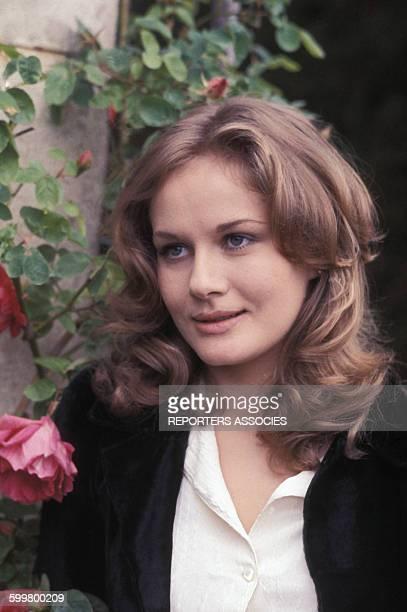 Portrait de l'actrice française Dominique Sanda en France circa 1970