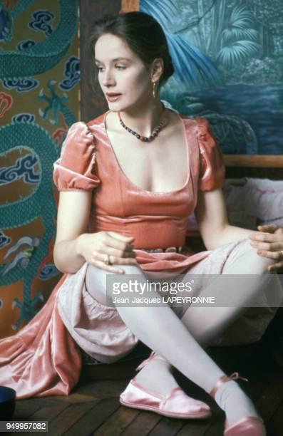 Portrait de l'actrice française Dominique Sanda à Marrakech en 1978 Maroc