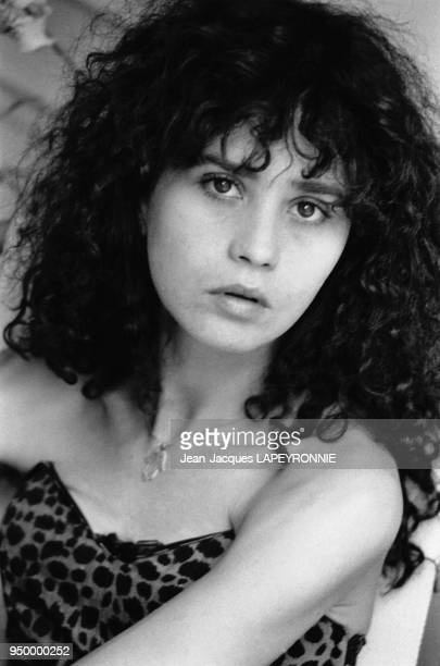 Portrait de l'actrice française Maria Schneider à Paris n France le 12 juillet 1979