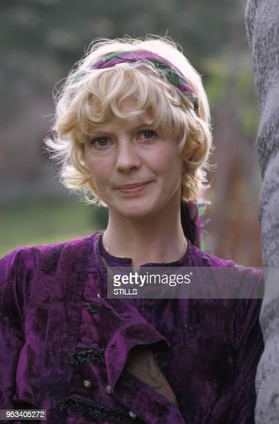 Portrait de l'actrice Mimsy Farmer à Paris dans les années 70 France Circa 1970