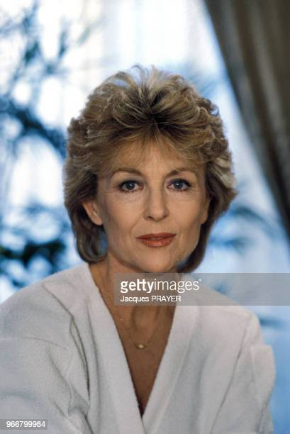 Portrait de l'actrice Nicole Courcel le 27 février 1984 en France