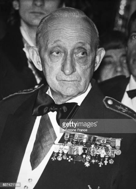 Portrait de l'amiral Georges Cabanier en France