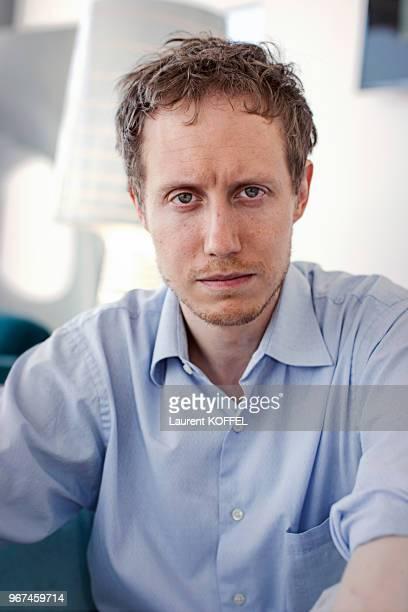 Portrait de Laszlo Nemes réalisateur du film 'Le fils de Saul' lors du 68eme Festival du Film Annuel de Cannes au Palais des Festivals le 18 mai 2015...
