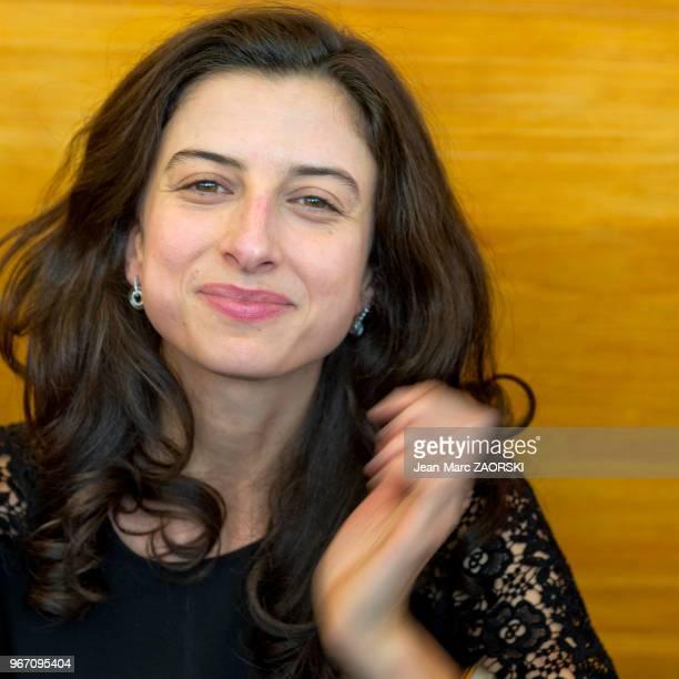Portrait de Laura El Makki animatrice de l'émission « On n'a pas fini d'en lire » sur France Inter à l'occasion de l'évènement « RadioFrance fête le...