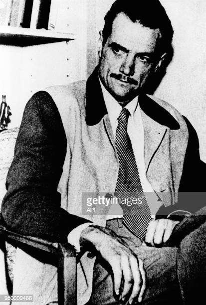 Portrait de l'aviateur, homme d'affaires et producteur de cinéma Howard Hughes, Etats-Unis.