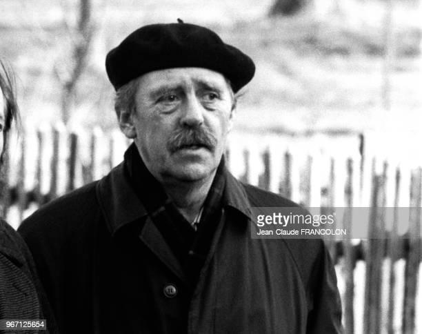 Portrait de l'écrivain allemand Heinrich Böll prix nobel de littérature le 13 février 1974 en Allemagne