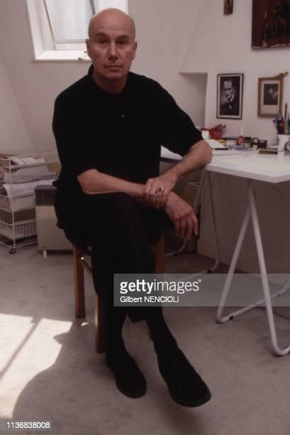 Portrait de l'écrivain français Gabriel Matzneff, en 1995.
