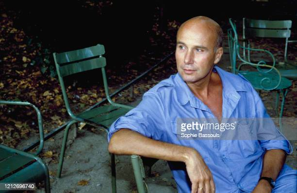 Portrait de l'écrivain français Gabriel Matzneff