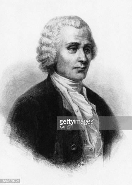 Portrait de l'écrivain français JeanJacques Rousseau