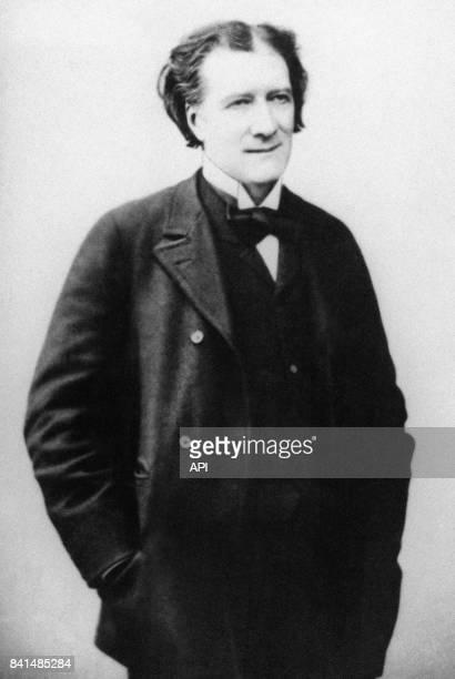 Portrait de l'écrivain français Victorien Sardou