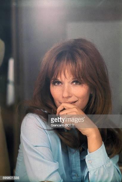 Portrait de Lea Massari circa 1970 en France