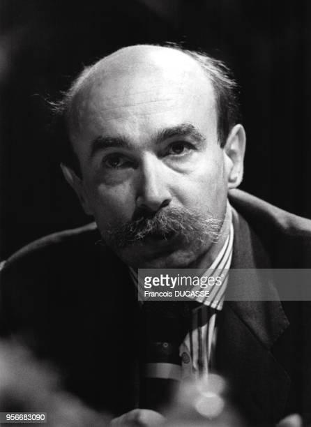Portrait de l'homme politique français Claude Malhuret en 1988.