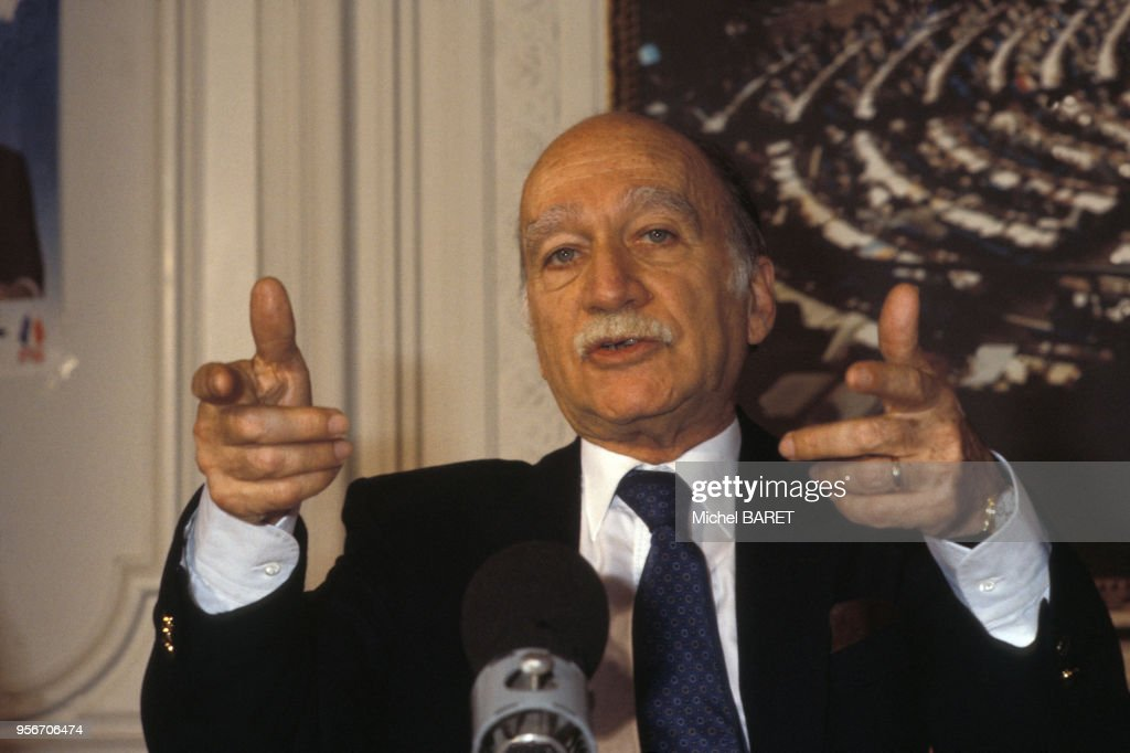 Portrait de Giorgio Almirante : Fotografía de noticias