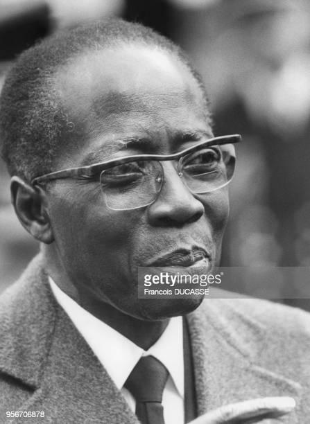 Portrait de l'homme politique sénégalais Léopold Sédar Senghor en 1983.