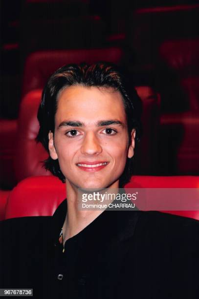 Portrait de l'illusionniste David Jarre le 21 avril 1998 à Paris France