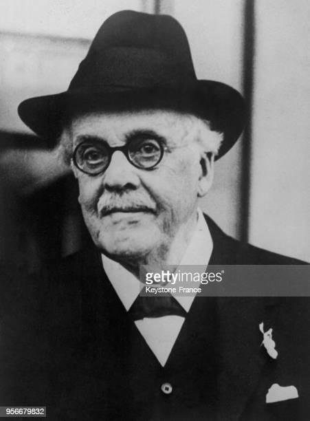Portrait de Lord Balfour âgé de 80 ans en 1928