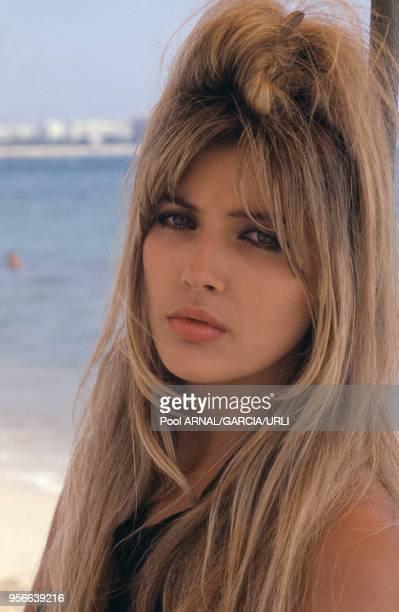 Portrait de Mandy Smith lors du Festival de Cannes en mai 1987 France