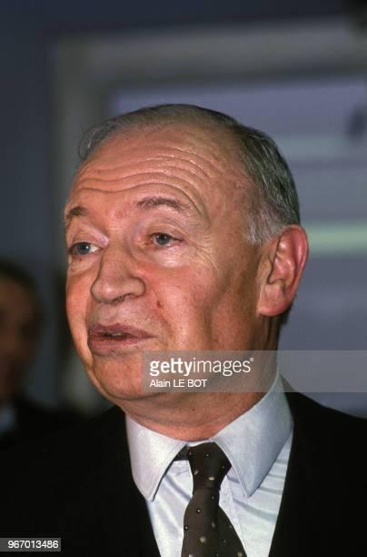Portrait de Marceau Long homme politique le 30 janvier 1989 en France