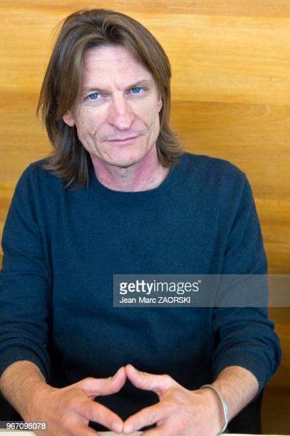 Portrait de Marcus Malte auteur français de romans policiers et d'ouvrages de littérature d'enfance et de jeunesse lauréat du prix Femina 2016 à...