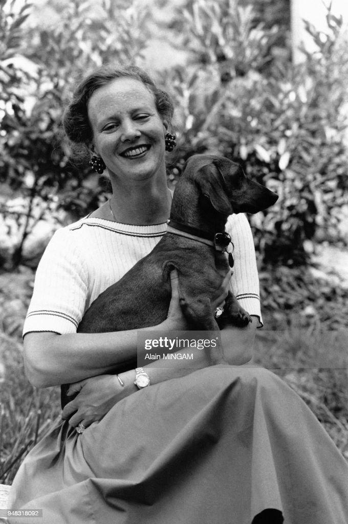 Portrait de Margrethe II du Danemark : News Photo
