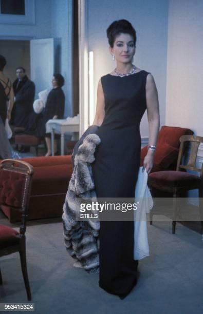 Portrait de Maria Callas à Paris dans les années 60, France. Circa 1960.