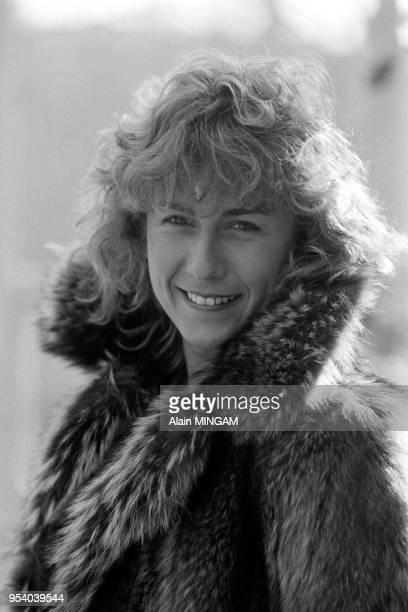 Portrait de Mariana Simionescu à Copenhague en mars 1982 Danemark