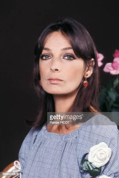 Portrait de Marie Laforêt le 7 juin 1973 à Paris, france.