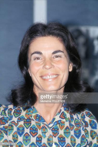Portrait de Micheline ChabanDelmas le 6 avril 1983 à Paris