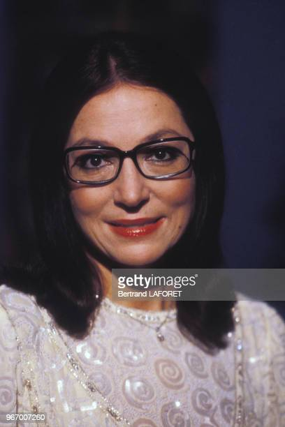 Portrait de Nana Mouskouri le 19 octobre 1983 à Paris France