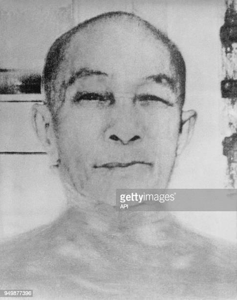 Portrait de Nguyen Van Thieu ancien président du SudViêtNam entre 1965 et 1975 au ViêtNam