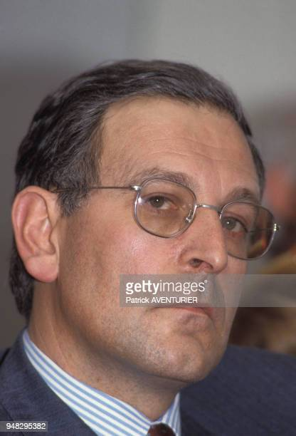 Portrait de Patrick Le Lay le 6 avril 1987 à Paris France