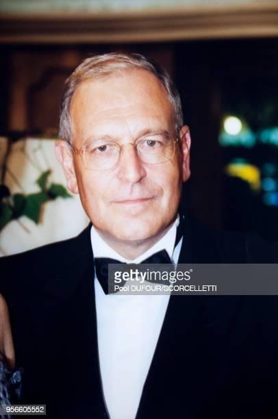 Portrait de Patrick Le Lay présidentdirecteur général de TF1 lors de la soirée des 7 d'Or de la télévision le 2 octobre 1999 à Paris France