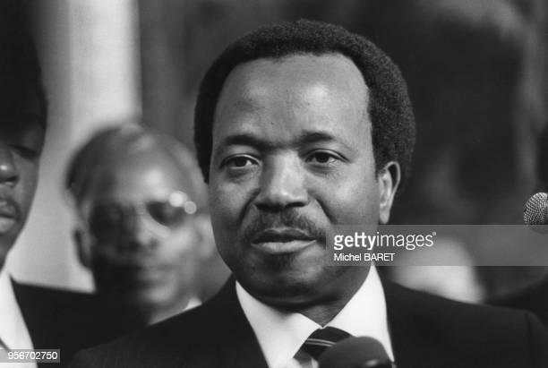 Portrait de Paul Biya, le président de la République du Cameroun.