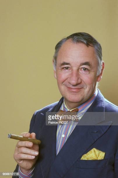 Portrait de Philippe Noiret le 10 mai 1985 à Paris France