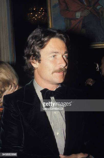 Portrait de Portrait de Jacques Charrier dans les années 70 dans les années 70 France Circa 1970