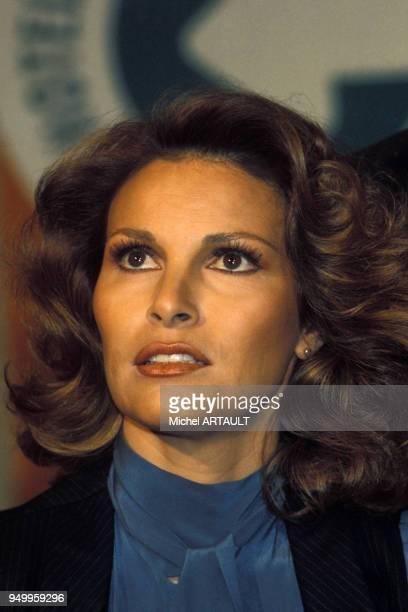 Portrait de Raquel Welch en février 1976 à Paris France