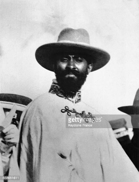 Portrait de Ras Tafari Regent d'Abyssinie