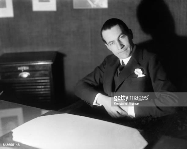 Portrait de Roger Martin du Gard à Paris France circa 1928