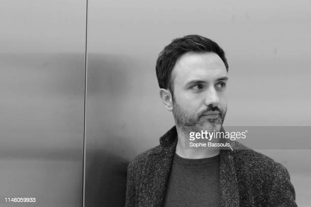 Portrait de Sebastien Bizet, nouveau responsable de la Communication chez Fondation d'entreprise Luis Vuitton, Fondation Vuitton, Paris, France, 3...