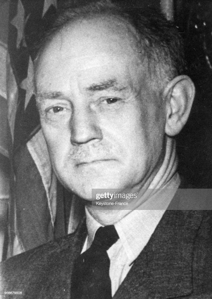 Portrait de Sir Jack Drummond assassiné en France, en 1952. News ...