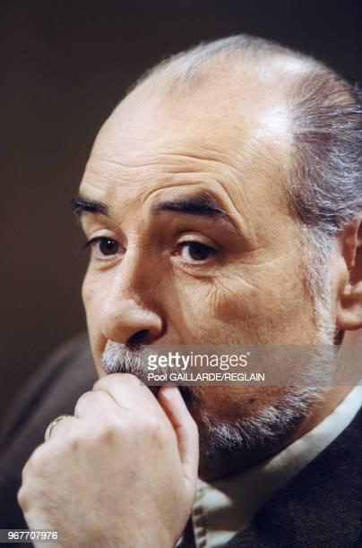 Portrait de Tahar Ben Jelloun le 20 mars 1999 à Paris France