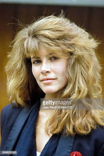 Portrait de Tawny Kitaen le 11 février 1984 à Paris France