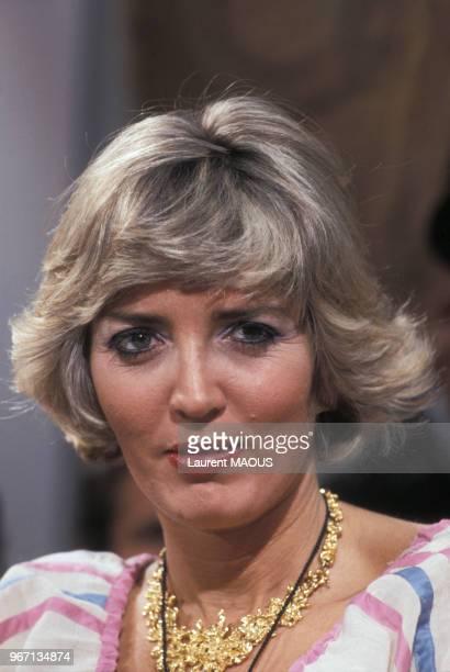 Portrait de Xaviera Hollander romancière le 17 juin 1977 à Paris France